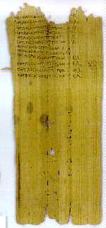 Die wichtigsten Papyri