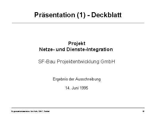 Präsentation 1 Deckblatt